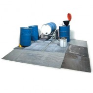 Plataforma colectora de acero 20 L