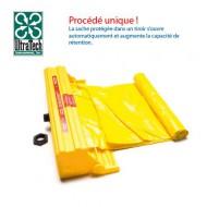 Caja con bolsa de polietileno para plataforma