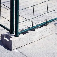 Bloque de hormigón para barrera de separación