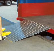 Pont de chargement en aluminium