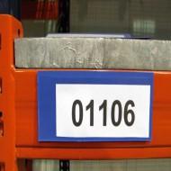 Porte étiquette aimanté  120x80 mm