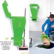 Poste absorbente vegetal mural todo en 1