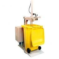 Prensa para contenedor para residuos 240/360 litros