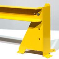 Protección UPN 100 para estantería doble - Longitud 2500 mm