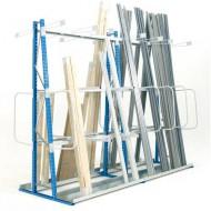 Estantería para un almacenamiento vertical con cara doble 1800 mm - Elemento de base