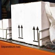 Séparateur pour plancher métallique - 850x100m