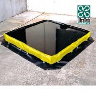Cubeta colectora flexible 2830 litros
