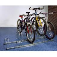 Soporte para bicicletas arriba-abajo 5 emplazamientos