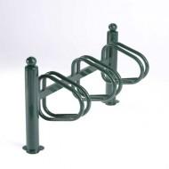 Soporte para bicicletas sobre pletina 3 emplazamientos