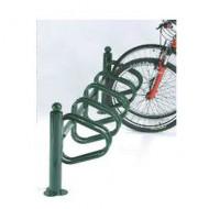 Soporte para bicicletas sobre pletina 5 emplazamientos