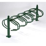 Soporte para bicicletas sobre pletina 10 emplazamientos
