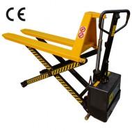 Transpaleta eléctrica levantamiento alto - Fuerza 1000 kg